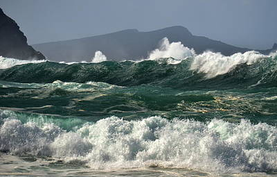 Photograph - Clogher Waves by Barbara Walsh