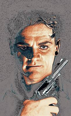 Close Up James Cagney As Gangster Rocky Sullivan In Angels With Dirty Faces 1938-2008 Art Print