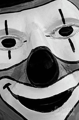 Photograph - Close-up Smiling Clown  by Jim Corwin