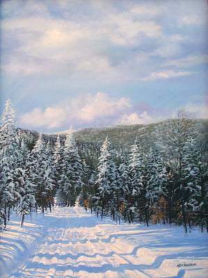 Closed In Winter Art Print by Ken Ahlering