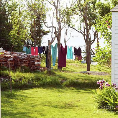 Clothesline Art Print