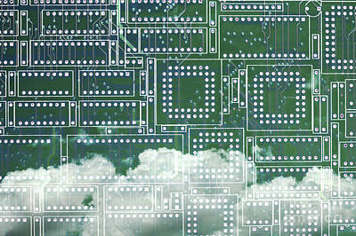 Photograph - Cloud Computing by Diane Macdonald