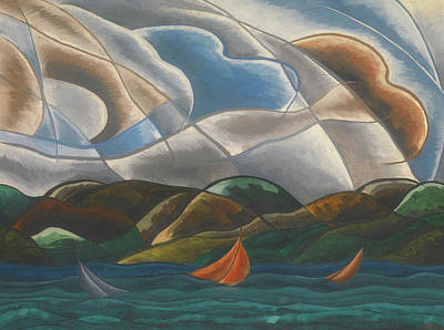Clouds And Water Art Print by Arthur Dove