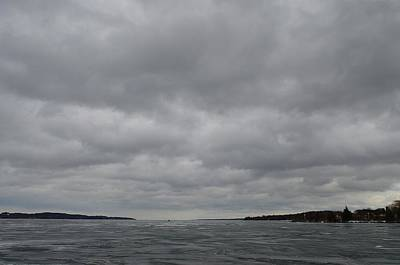 Photograph - Clouds Over Kempenfelt Bay  by Lyle Crump