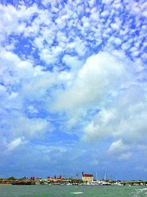 Photograph - Clouds Over The City by Alice Gipson