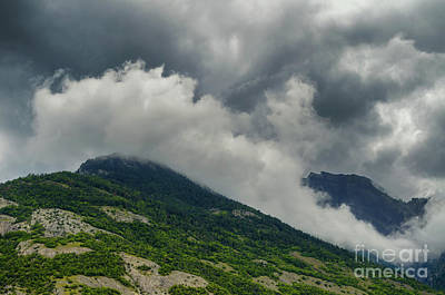 Photograph - Clouds Over The Mountain by Michelle Meenawong