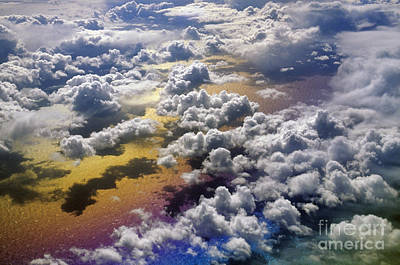 Photograph - Cloudscape Over The North Atlantic Ocean by Frans Lanting MINT Images