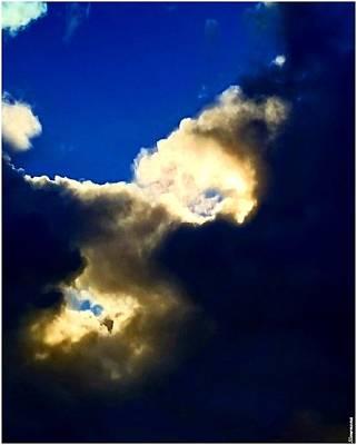 Photograph - Cloudumina by Simenona Martinez