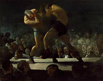 Boxer Painting - Club Night by Mountain Dreams