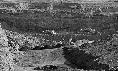 Photograph - Coal Mining by Sandy Keeton