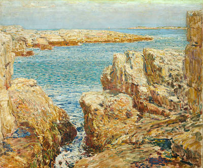 Painting - Coast Scene, Isles Of Shoals by Childe Hassam