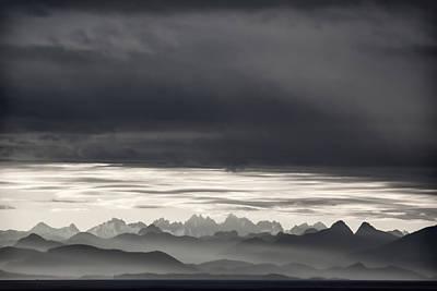 Passage Wall Art - Photograph - Coastal British Columbia by Carol Leigh