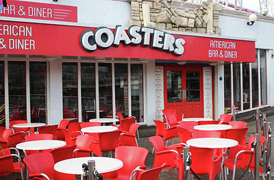 Photograph - Coasters Restaurant - Blackpool  by Doc Braham