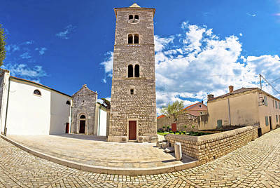 Photograph - Cobbled Street Of Nin Panoramic View by Brch Photography