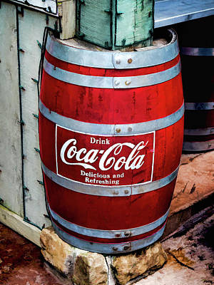 Bottling Company Photograph - Coca Cola  V3 by John Straton
