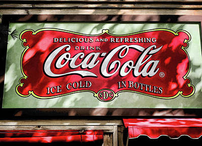 Bottling Company Photograph - Coca Cola  V7 by John Straton