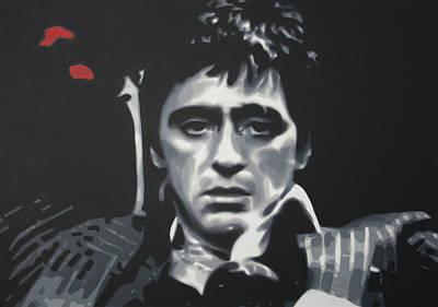 Cocaine Painting - Cocaine 2013 by Luis Ludzska