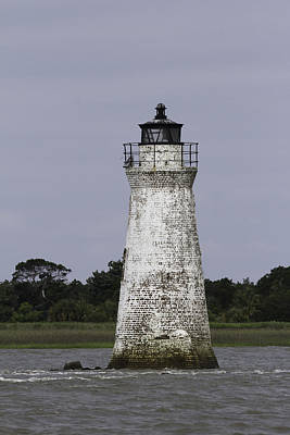 Photograph - Cockspur Lighthouse by Elizabeth Eldridge