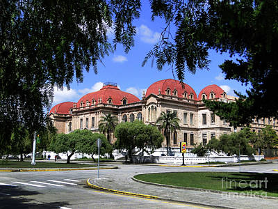 Photograph - Colegio Benigno Malo, Cuenca, Ecuador by Al Bourassa