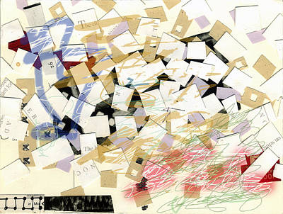 Mixed Media - Collage4 by Christina Knapp