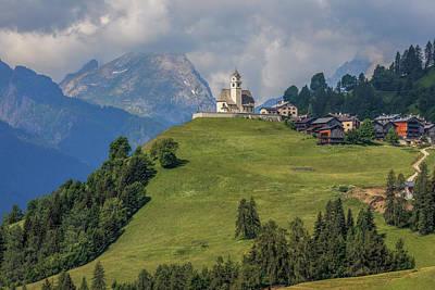 Tyrol Wall Art - Photograph - Colle Santa Lucia - Italy by Joana Kruse