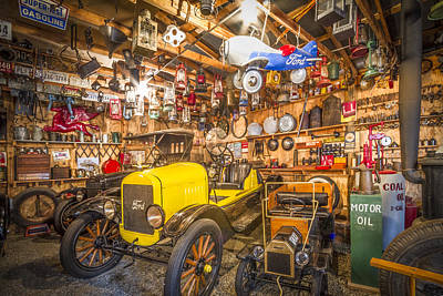 Miniature Shops Photograph - Collectibles by Debra and Dave Vanderlaan