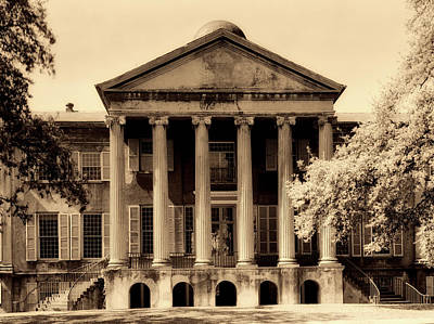 College Of Charleston Photograph - College Of Charleston 1900s by Mountain Dreams