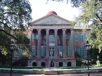 College Of Charleston Art Print by Richard Marcus