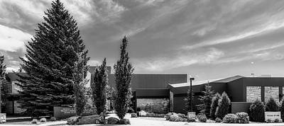 Photograph - College Of Law - University Of Wyoming by L O C