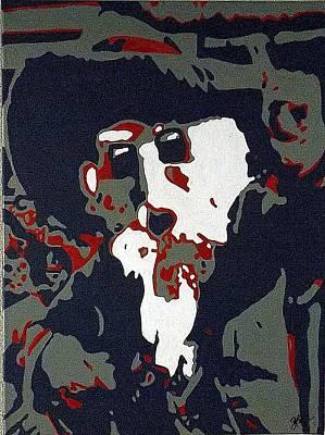 #1 Colonel Art Print by Steve Cochran