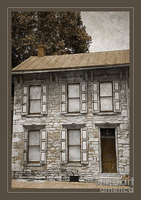 Photograph - Colonial Facade by John Stephens