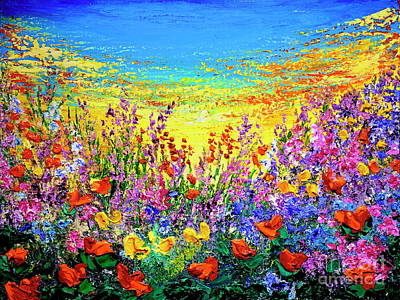 Painting - Color My World by Teresa Wegrzyn