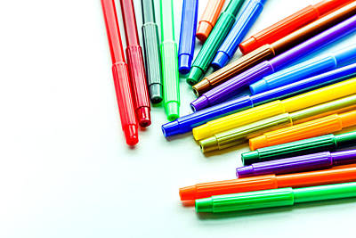 Purely Purple - Color Pens 2 by Jijo George