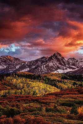 Mountain Royalty-Free and Rights-Managed Images - Colorado Autumn by Andrew Soundarajan