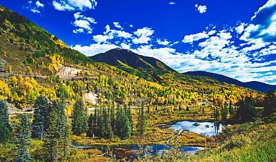 Photograph - Colorado Autumn Beauty by Library Of Congress