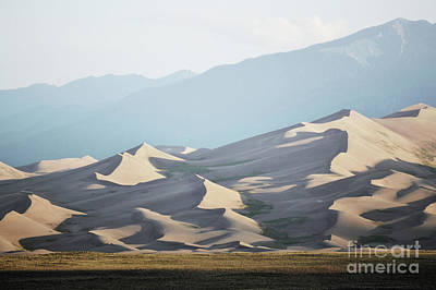 Photograph - Colorado Great Sand Dunes Sunset Landscape by Andrea Hazel Ihlefeld