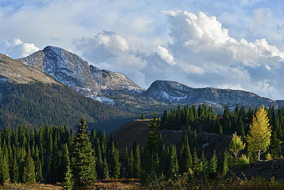 Photograph - Colorado High Country by Ray Mathis