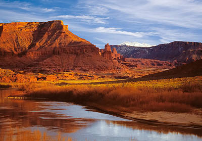 Photograph - Colorado River At Fisher Towers by Utah Images