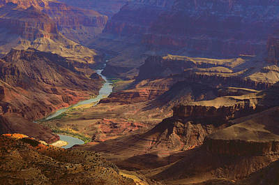 Photograph - Colorado River At Sunrise by Don Wolf