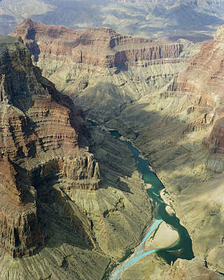 Photograph - Colorado River In The Grand Canyon by M K Miller