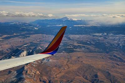 Photograph - Colorado Rockies by Kathryn Meyer
