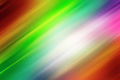 Soft Colour Digital Art - Colorful Abstract  by Les Cunliffe