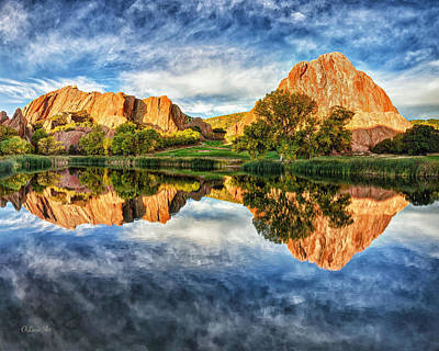 Art Print featuring the photograph Colorful Colorado by OLena Art Brand