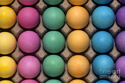 Photograph - Colorful Easter Eggs by Jim Corwin