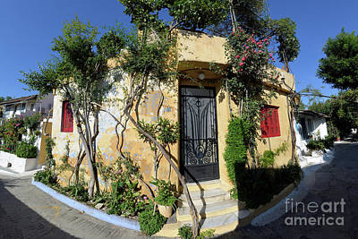 Photograph - Colorful House In Plaka by George Atsametakis