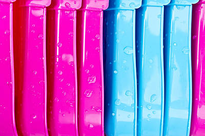 Royalty-Free and Rights-Managed Images - Colorful plastic by Tom Gowanlock