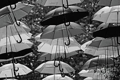 Photograph - Umbrellas by Doc Braham