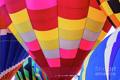 Photograph - Colorful Balloons by Robin Zygelman