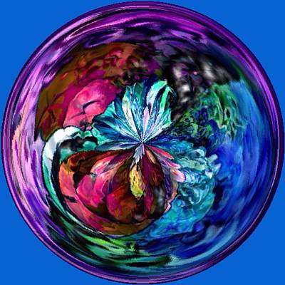 Digital Art - Colors In The Round by Megan Walsh