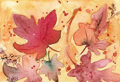 Painting - Colors Of Fall by Marsha Woods